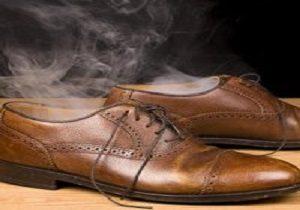 رفع بوی بد کفش ها با استفاده از مواد طبیعی